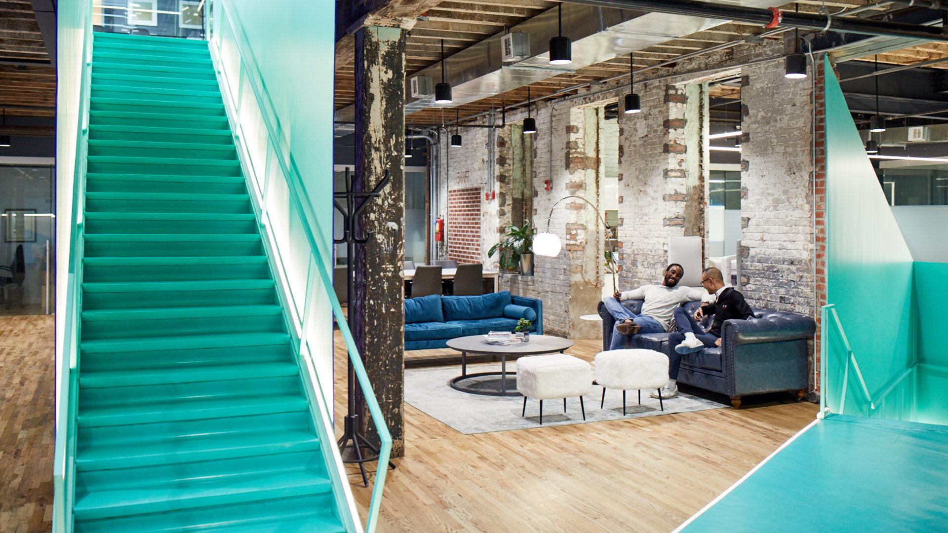 futuristic office at Bond Collective