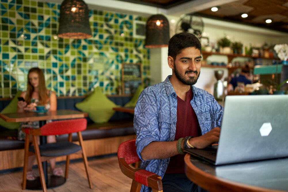 A new generation embracing workplace trends by working remotely