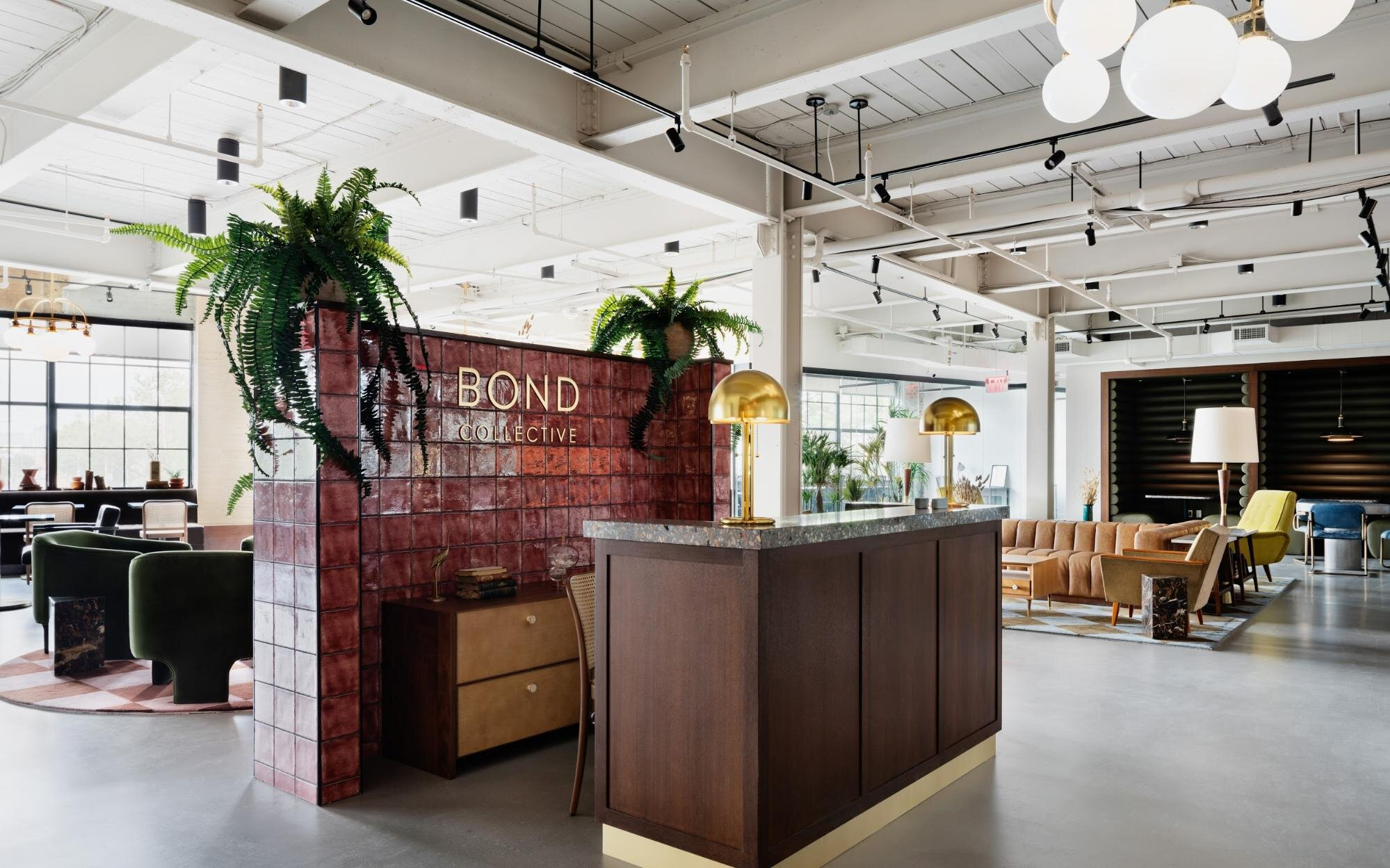 Bond collective flexible office space with lots of natural light
