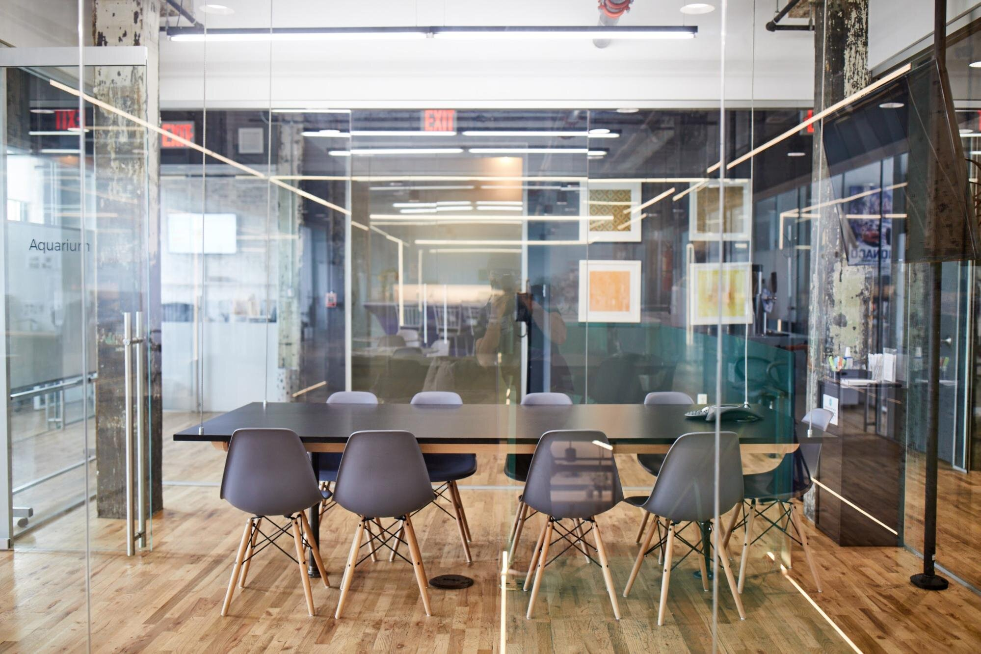 innovation space in an office space
