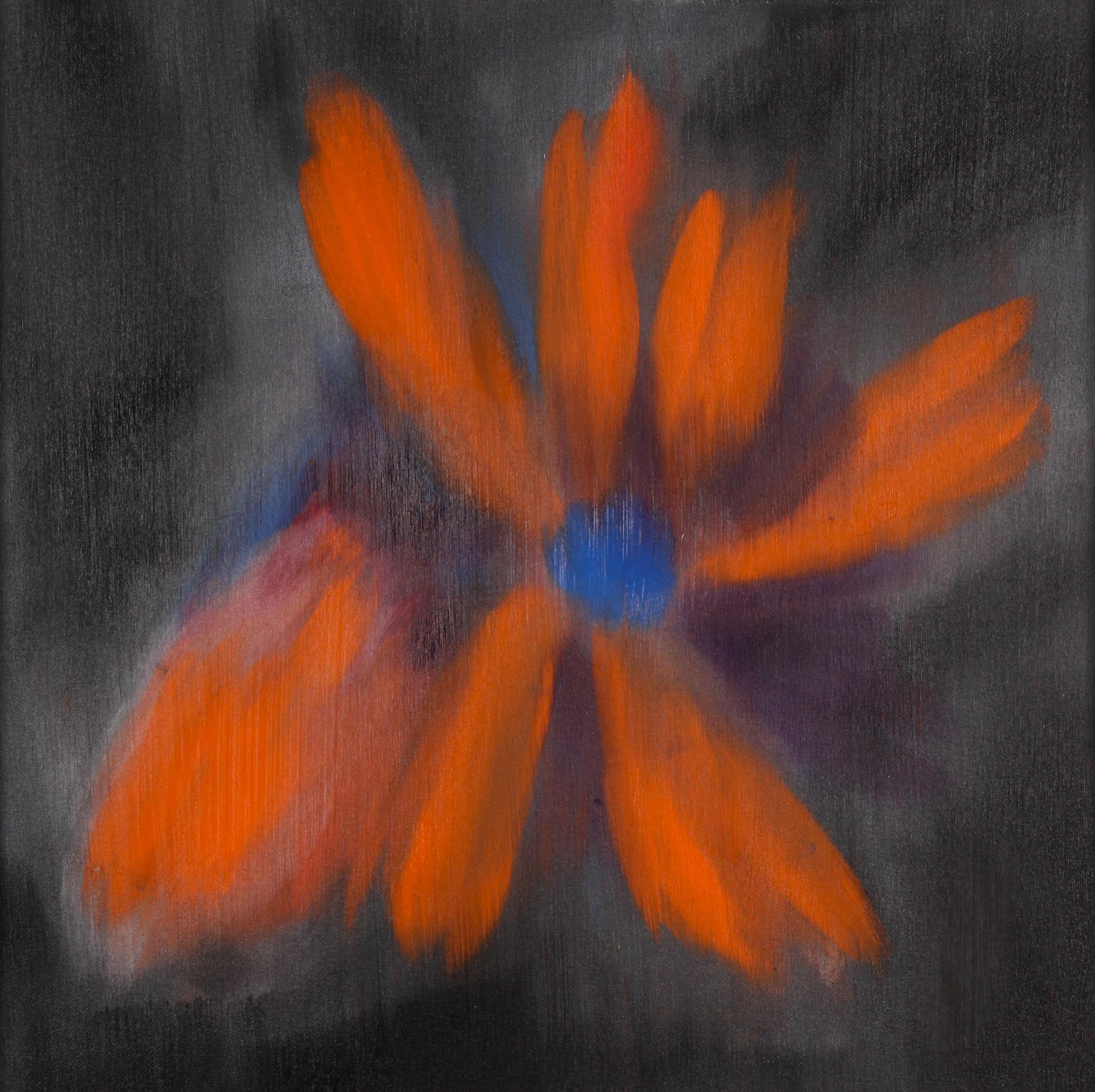 Ross Bleckner,  Untitled  2009 18 x 18 in Oil on canvas