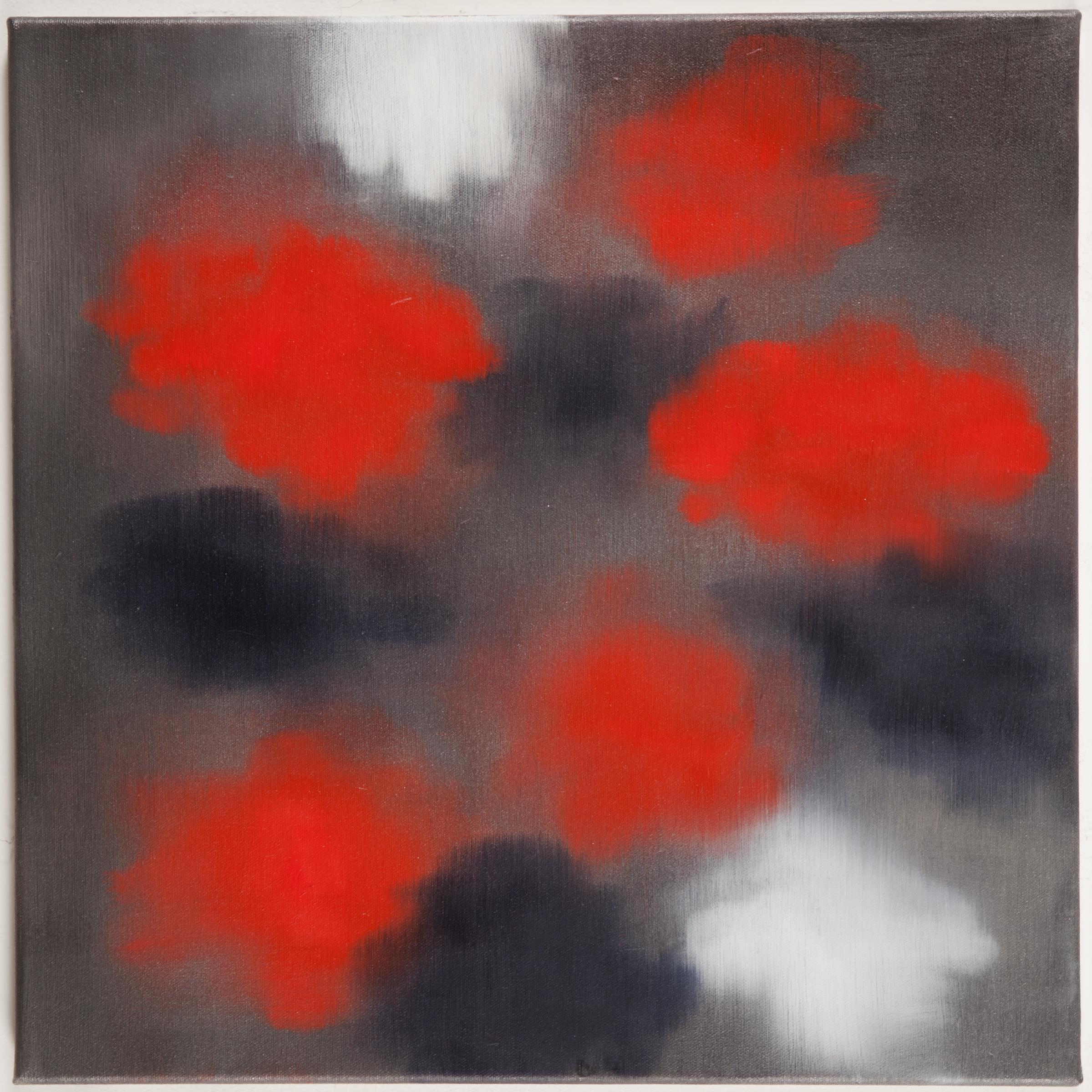 Ross Bleckner,  Untitled  2016 18 x 18 in Oil on linen