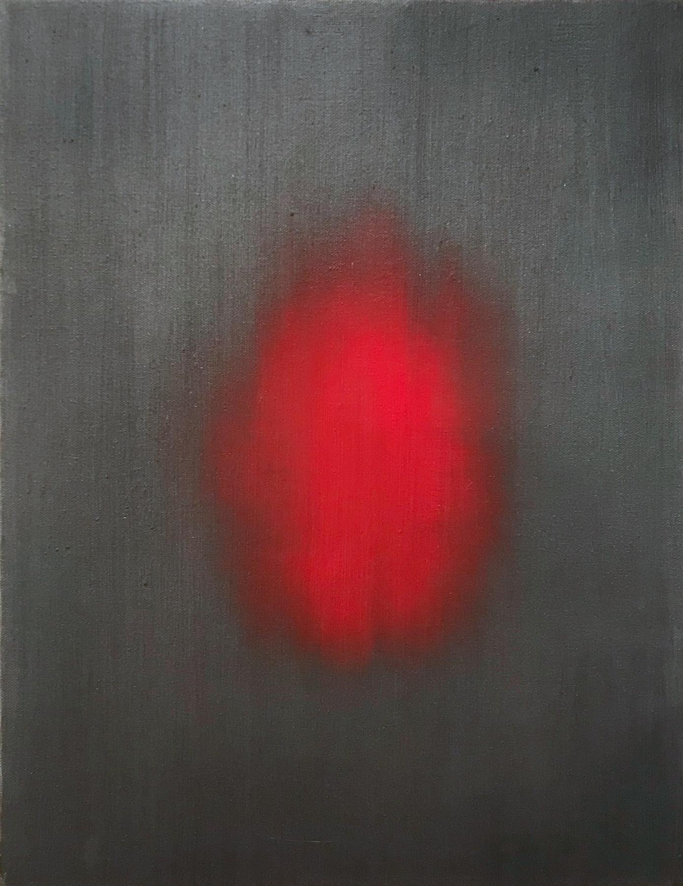 Ross Bleckner,  Untitled  1994 18 x 12 in Oil on canvas