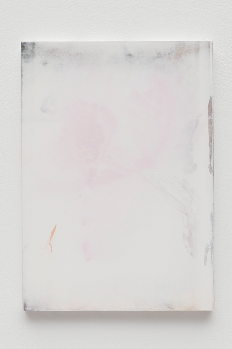 Marc Handelman,  Towards a Form of Voluntary Dispossession (for Edouard Glissant) #7  2016-2017 19 x 13 3/8 in Watercolor and mixed media on paper, mounted on panel