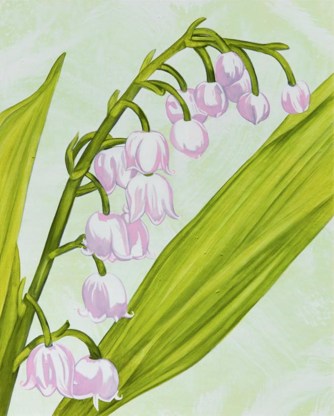 John Newsom,  Ethereal Belongings  2019 'Meadow Paintings' Series 30 x 24 in Oil on canvas