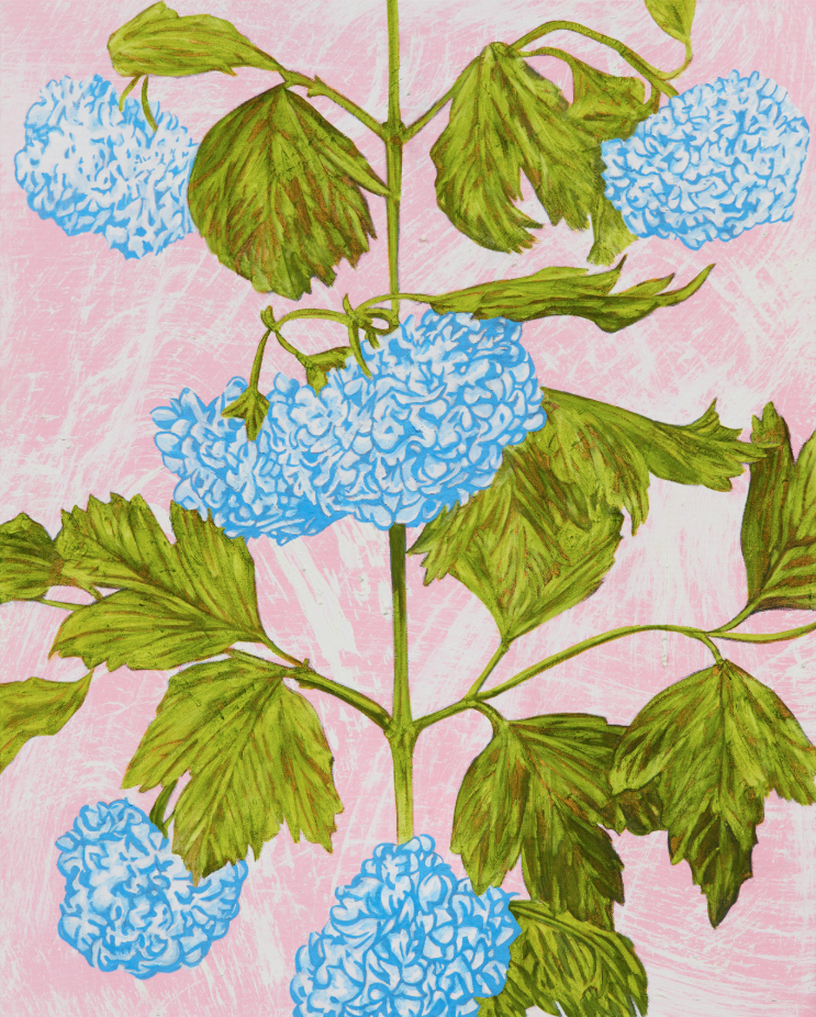 John Newsom,  Sweet Serenity  2019 'Meadow Paintings' Series 30 x 24 in Oil on canvas