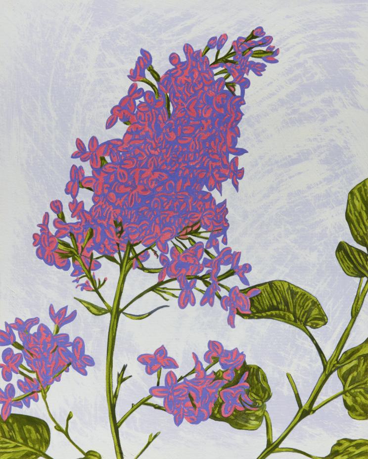 John Newsom,  Divine Wind  2019 'Meadow Paintings' Series 30 x 24 in Oil on canvas