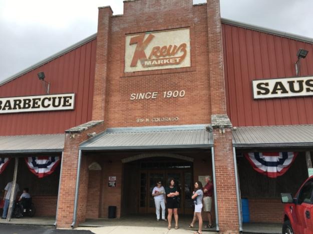 Kreuz Market - 619 North Colorado StreetLockhart, Texas 78644(Population: 13,000)#10 on the TX BBQ PassportFirst stop