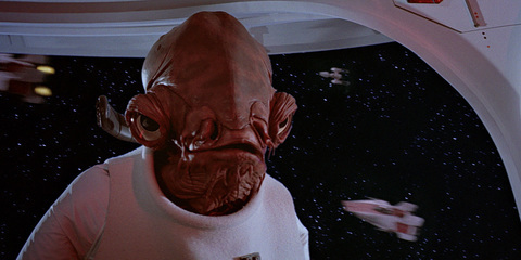Admiral Ackbar, also a leader
