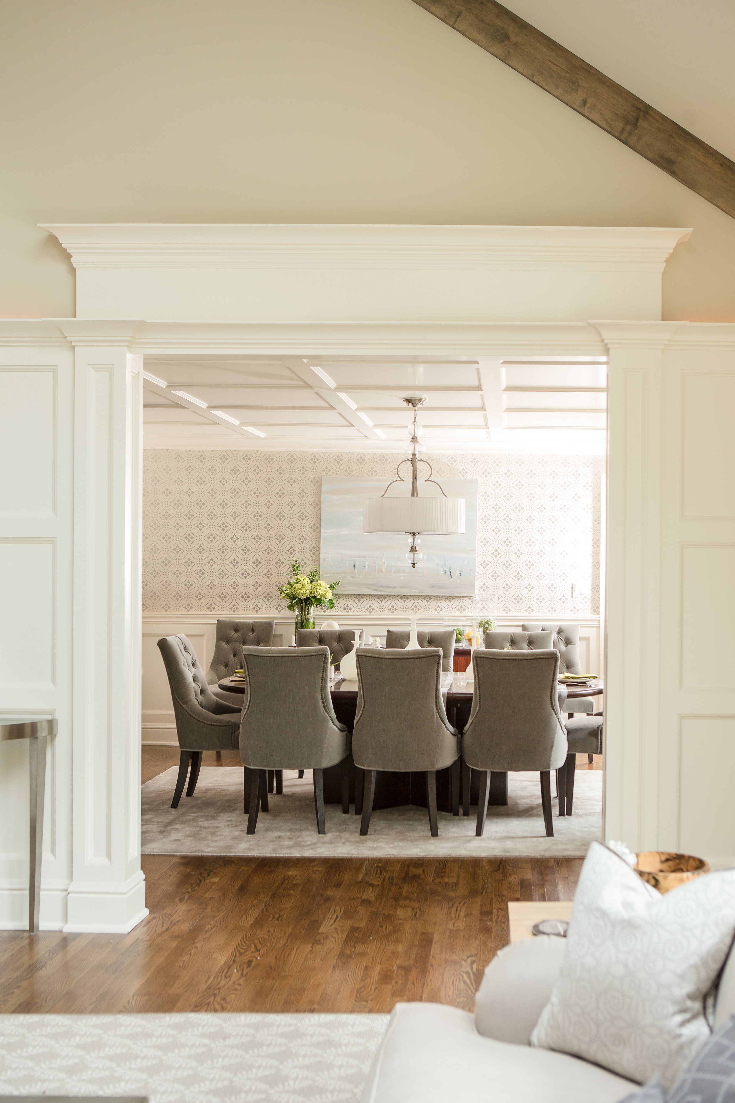 DINING ROOM - WAINSCOTING