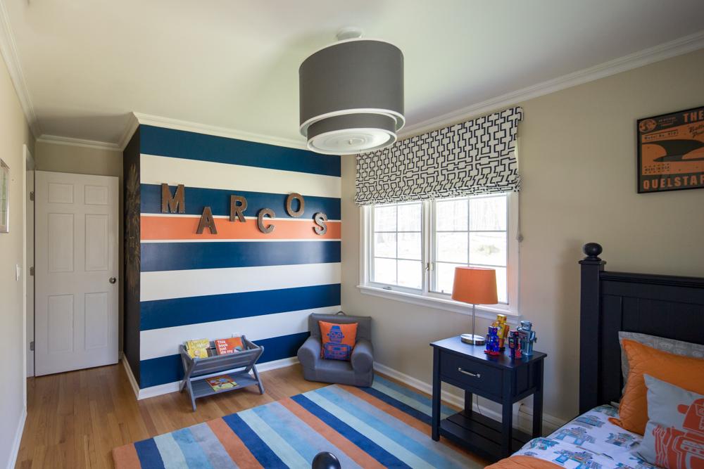 BOY'S BEDROOM DESIGN - COLORFUL