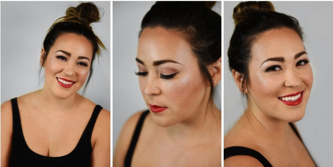 Lovely– - Pair a red lip with a classic eye for an effortless look