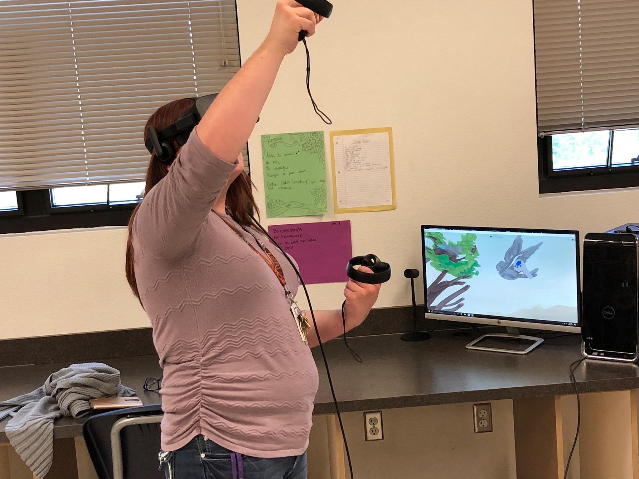 STEM Revolution Virtual Reality HTC Vive