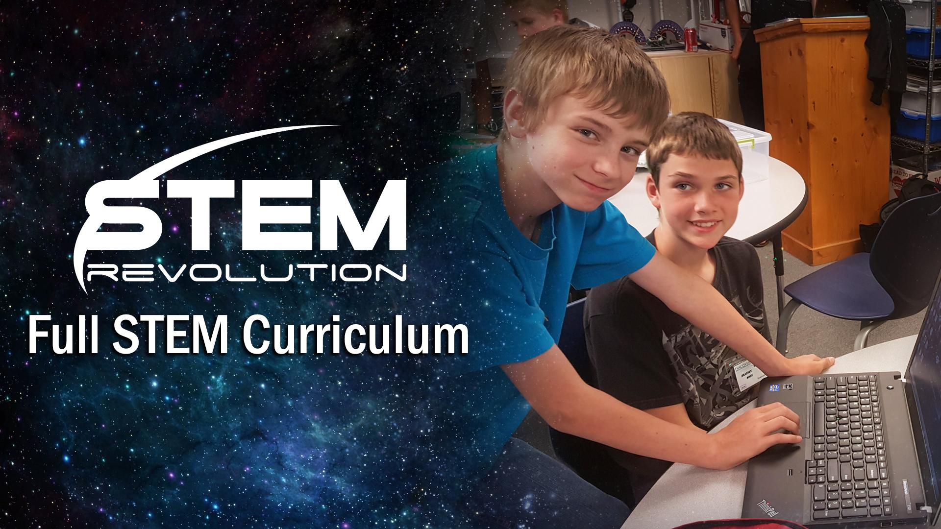 STEM Revolution - Full STEM Curriculum