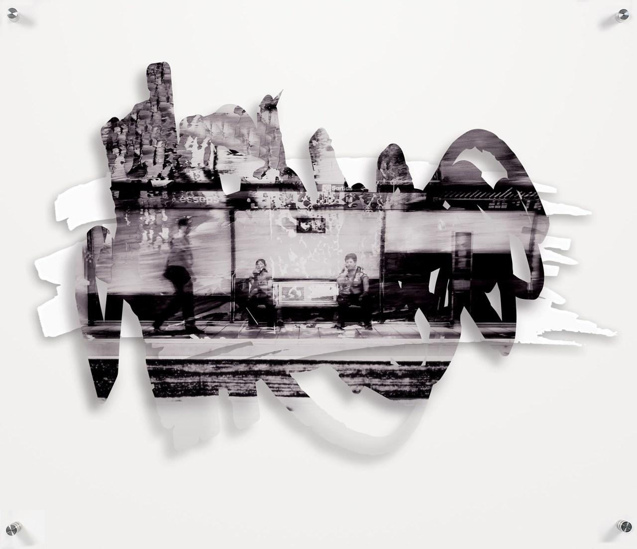 Rob Grad - Commuter Barcelona - 36x32.jpg