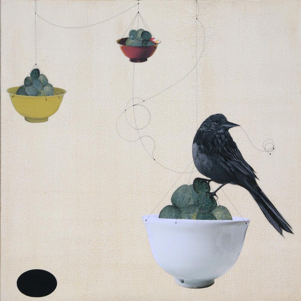 Kaour Mansour - Stone & Bird - 20x20.jpg