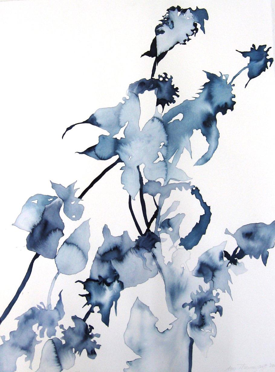 Ann Thornycroft- Indigo Flowers i.s-22x30.JPG