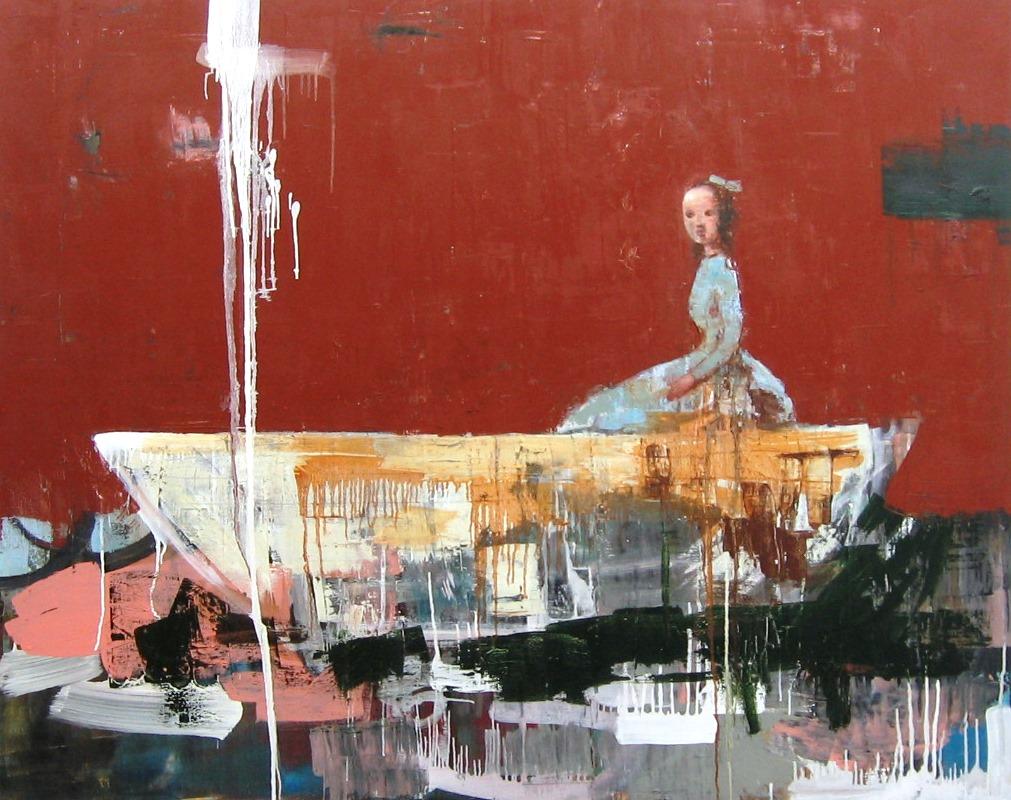 Rimi Yang- Girl in Boat c.s-60x48.JPG
