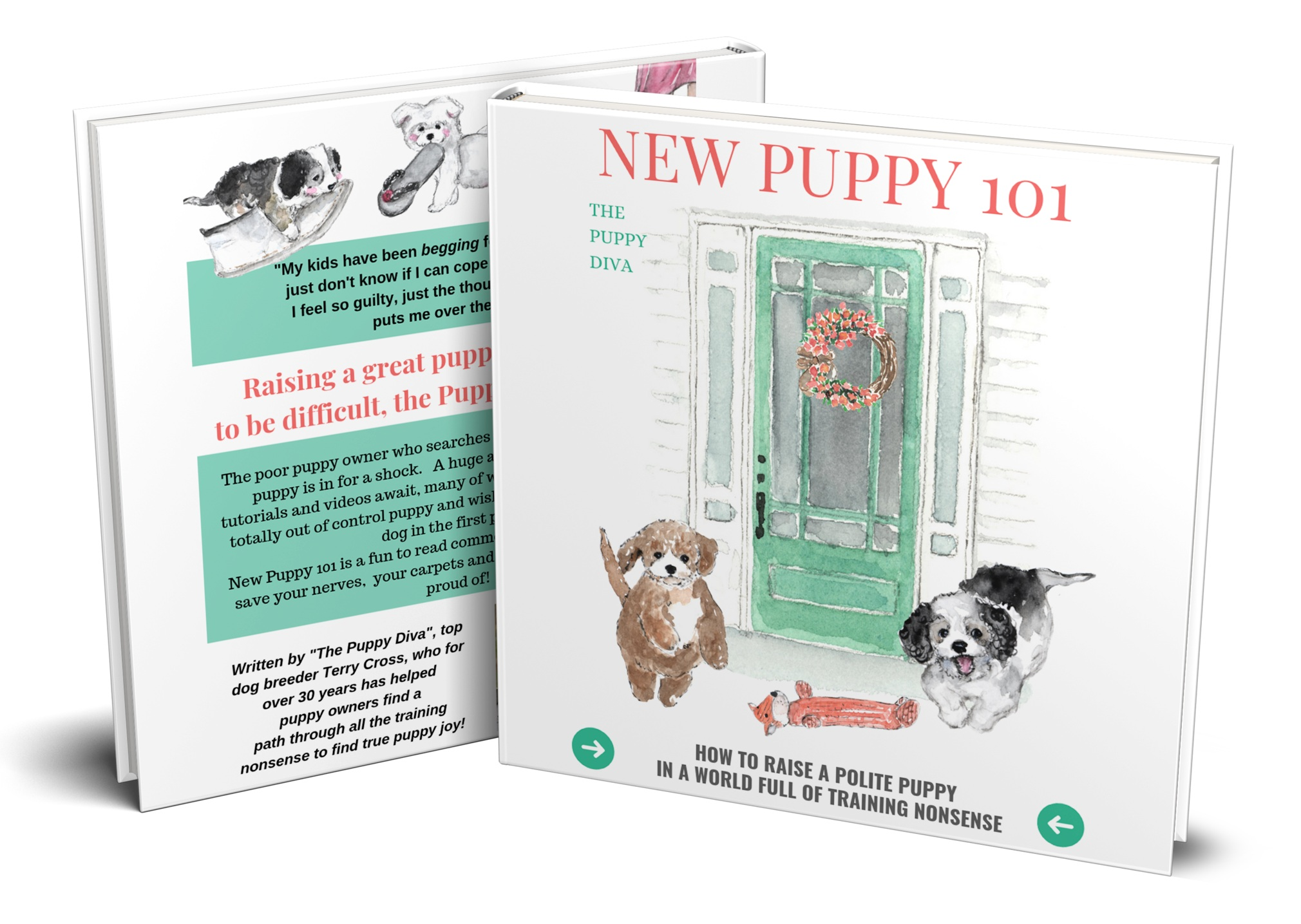 Puppy training ebook New Puppy 101