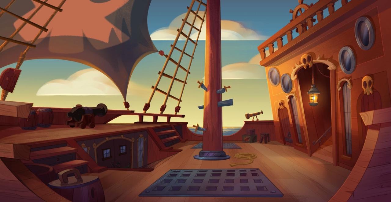 Atomic Cartoons - Pirate Express