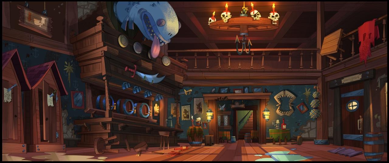 Atomic Cartoons -Pirate Express