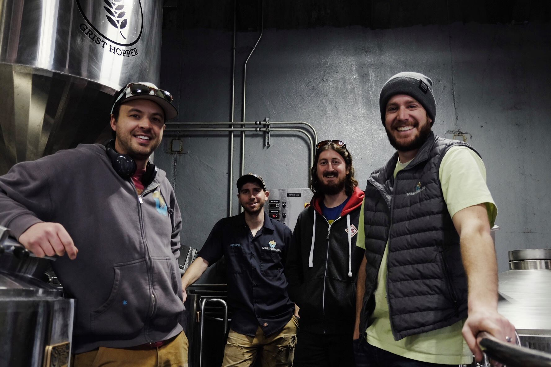 Station 26 at Wibby Brewing, photo courtesy The Brewtography Project