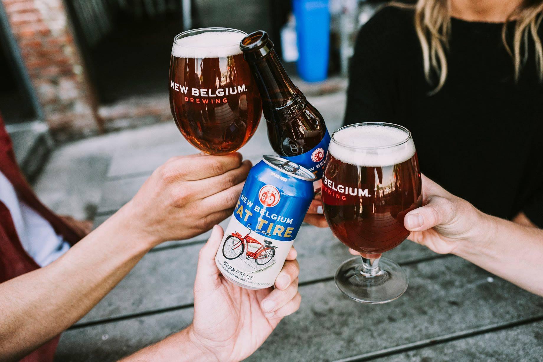 Donate at New Belgium Brewing in June