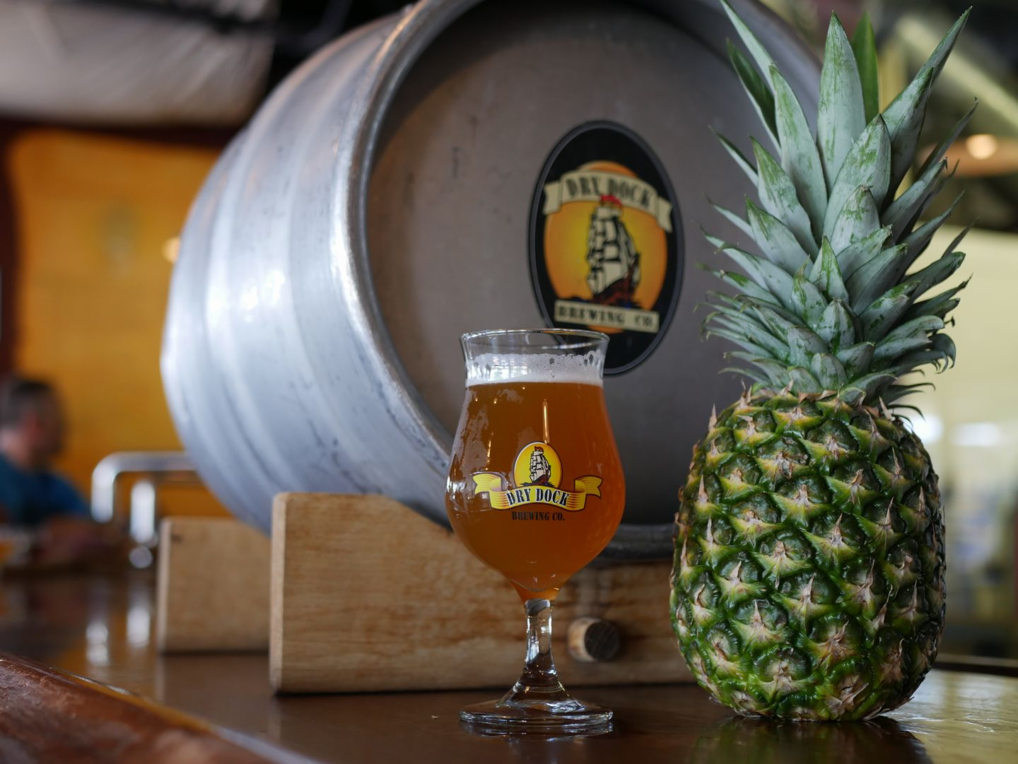 Dry Dock Firkin For A Cause