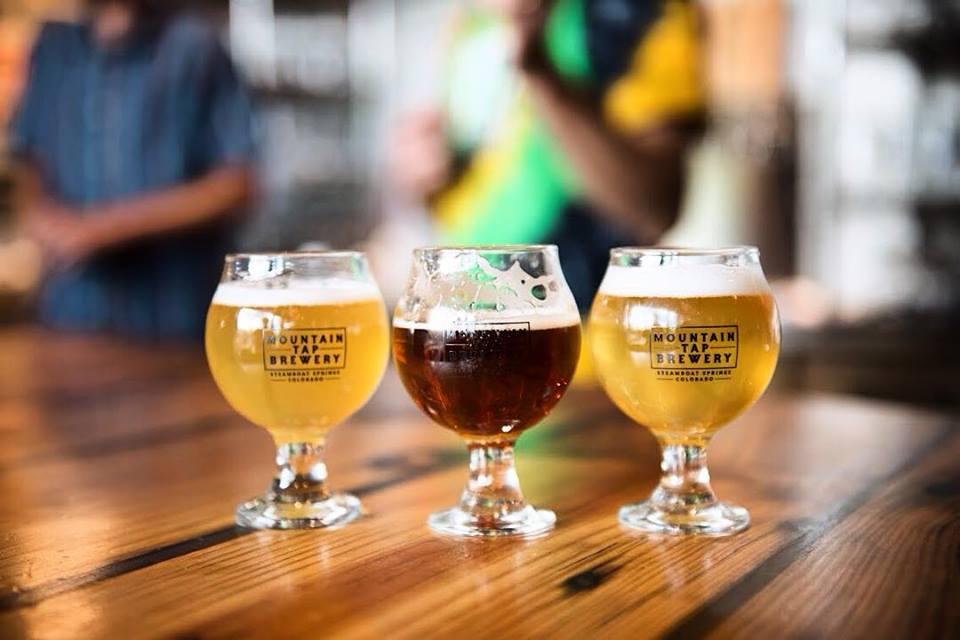 Enjoy Mountain Tap Brewery Pints