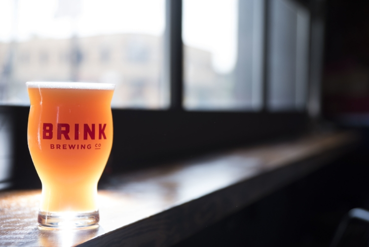 Brink Brewing's Gold Medal-winning New England/Hazy IPA, Afterglow. Photo by Samantha Reid