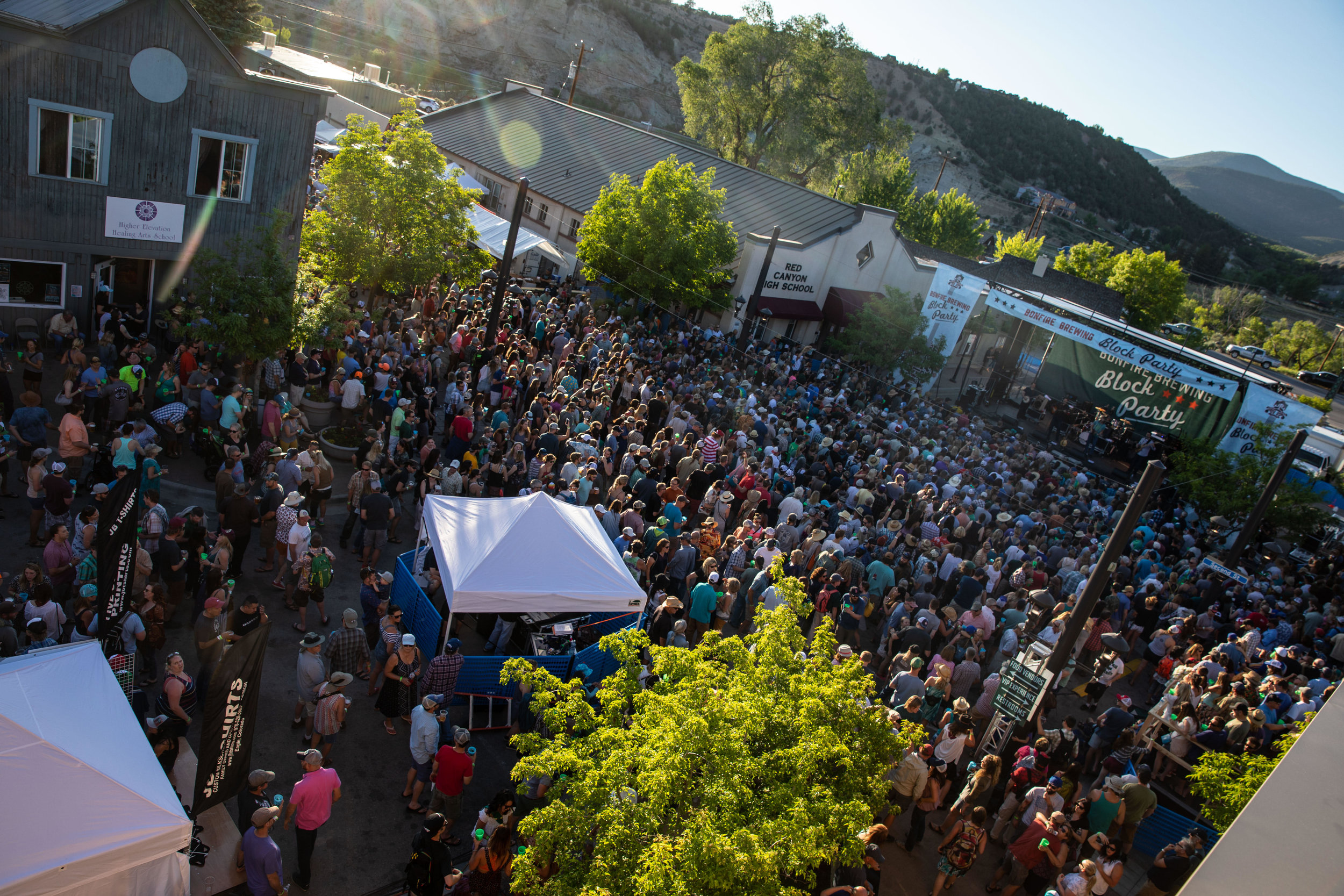The 2019 Bonfire Block Party music schedule has been released. The outdoor event will be held in Downtown Eagle, May 31 – June 2. Photos: John-Ryan Lockman, Showlove Media.