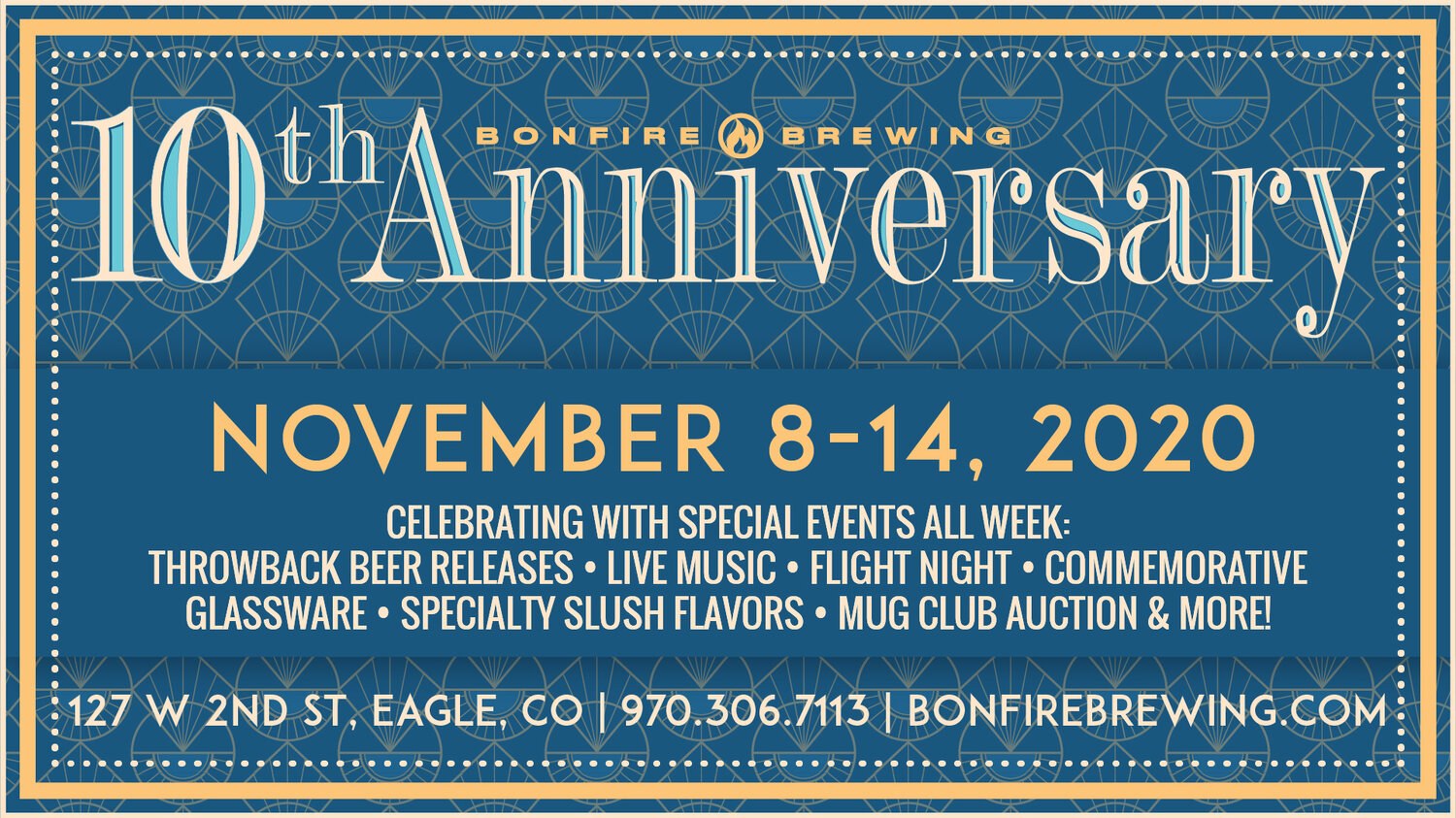 Bonfire Brewing Celebrates 10th Anniversary With A Week Of Throwback Beers And Live Music