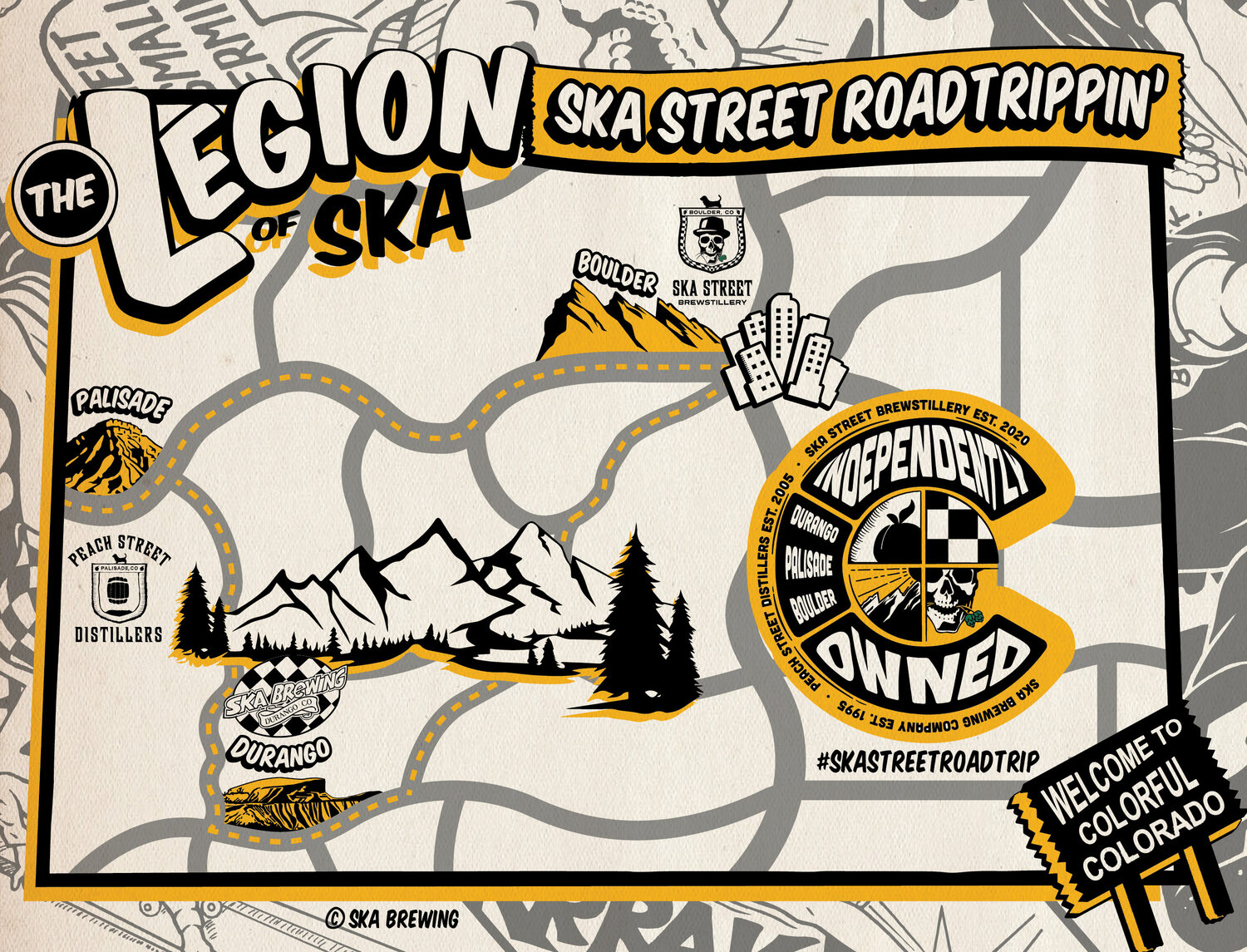 The Legion Of Ska Kicks Off The Ultimate Colorado Road Trip On National Road Trip Day