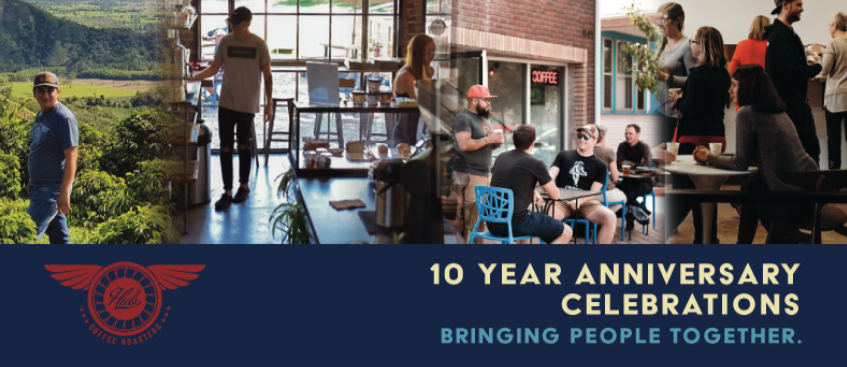 Hub 10 Year Anniversary Celebrations: Bringing people together.