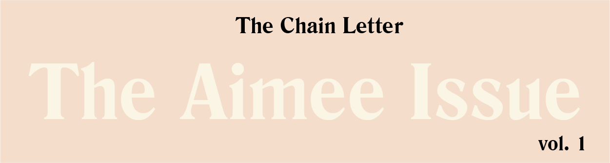 vol 1: The Aimee Issue