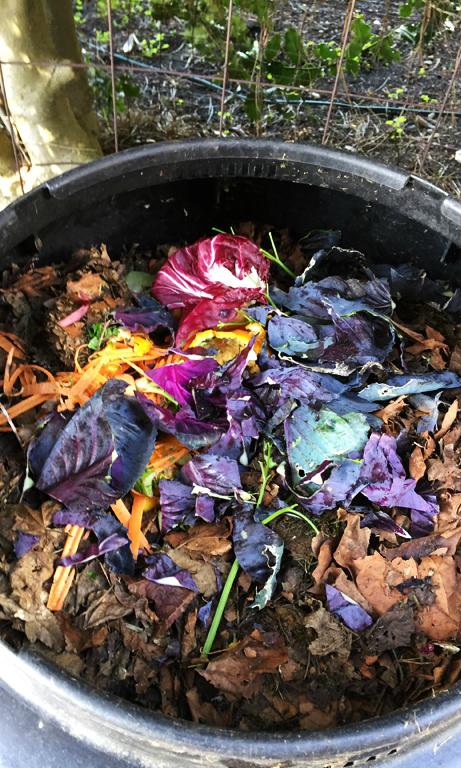 Passive compost bin