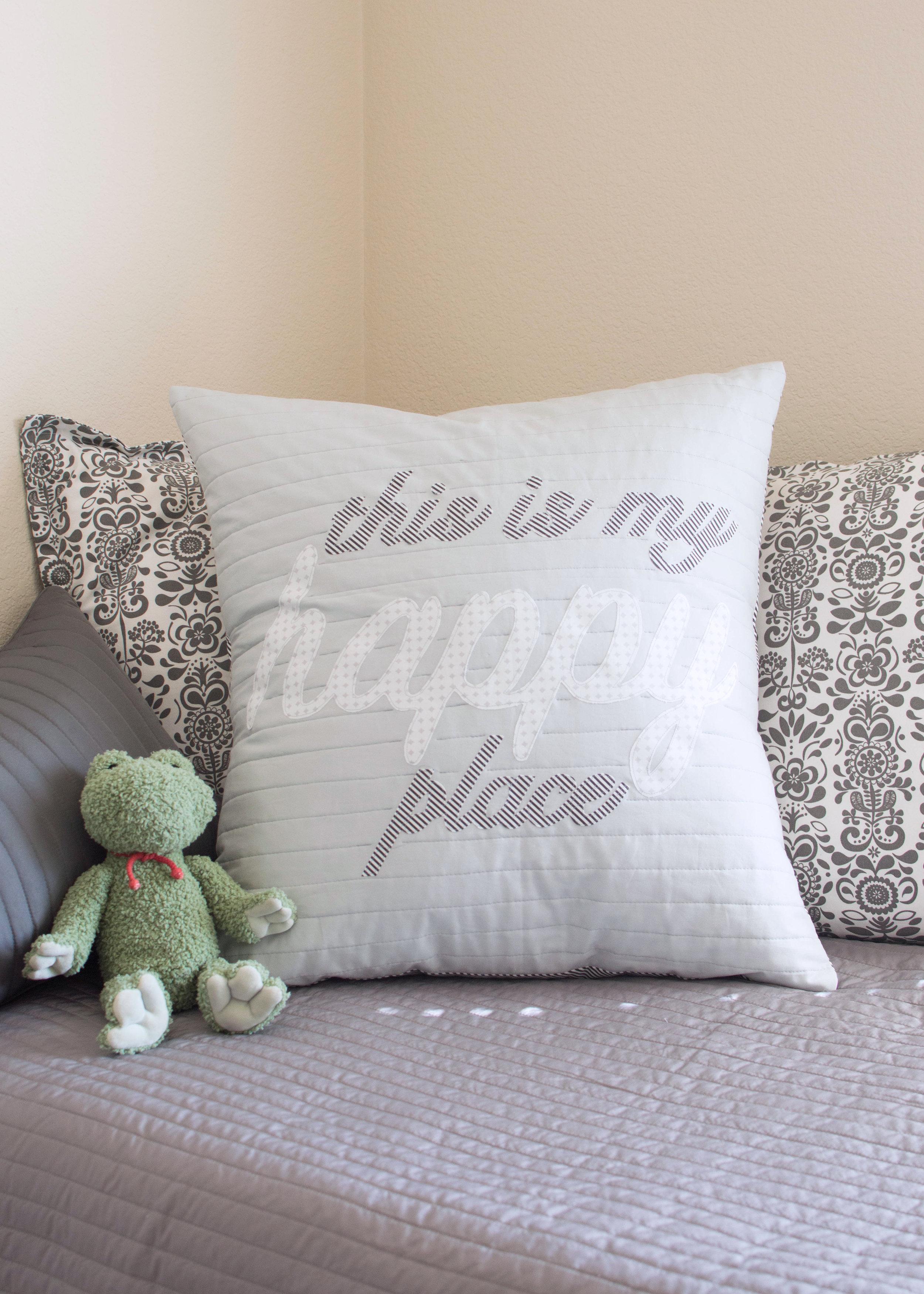 pillow applique
