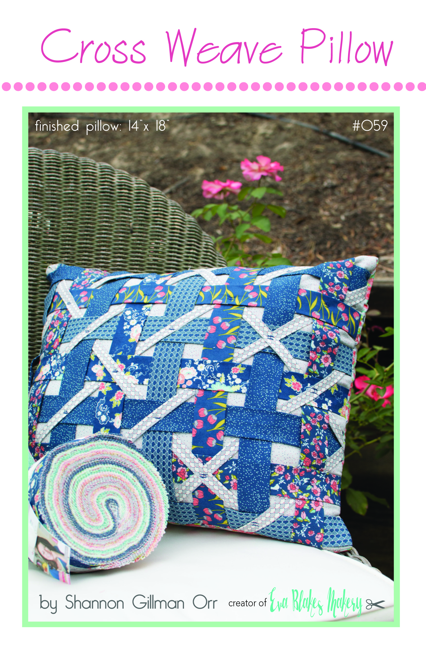 Cross Weave Pillow Cover