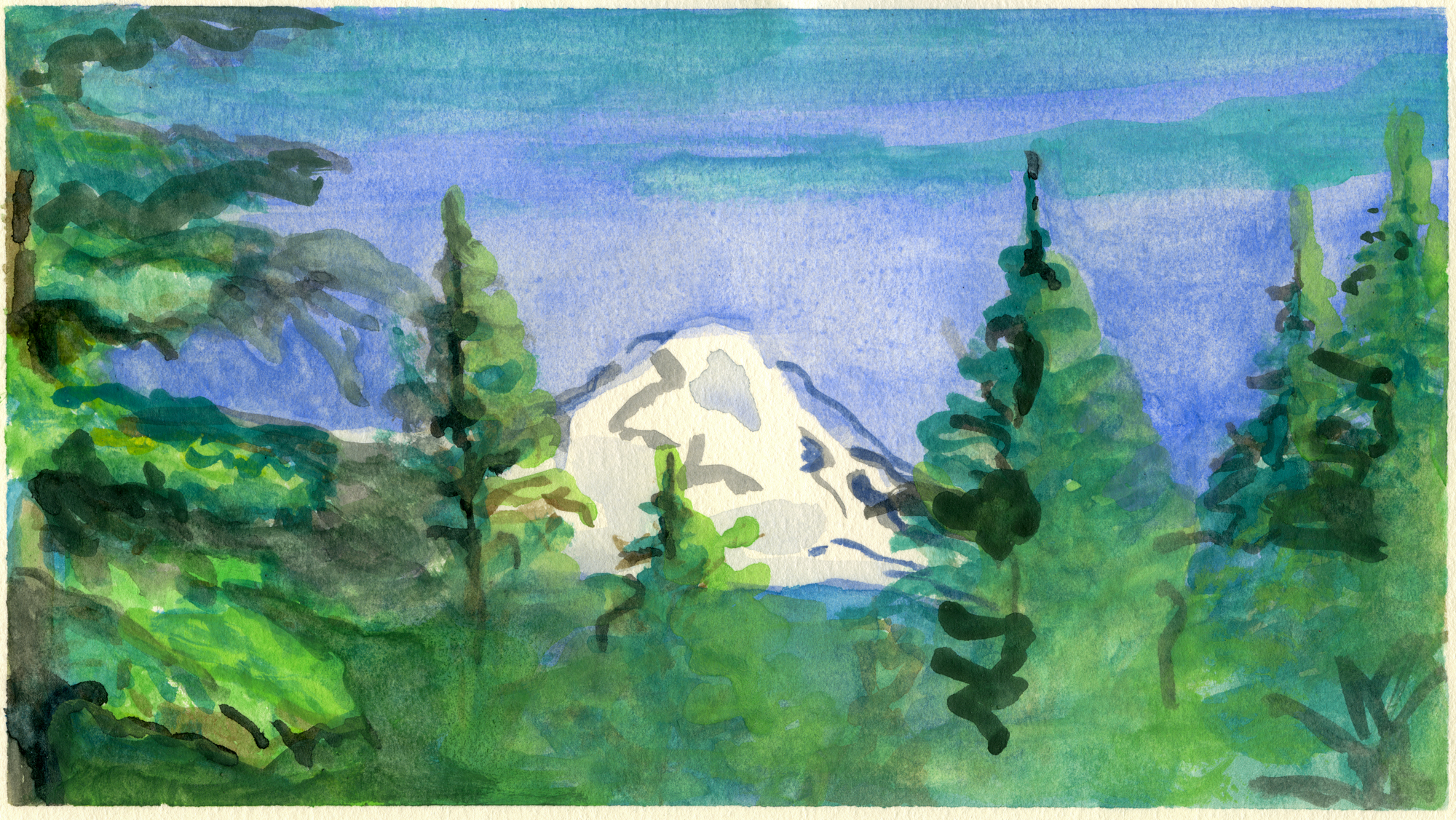 Mount Adams, Original