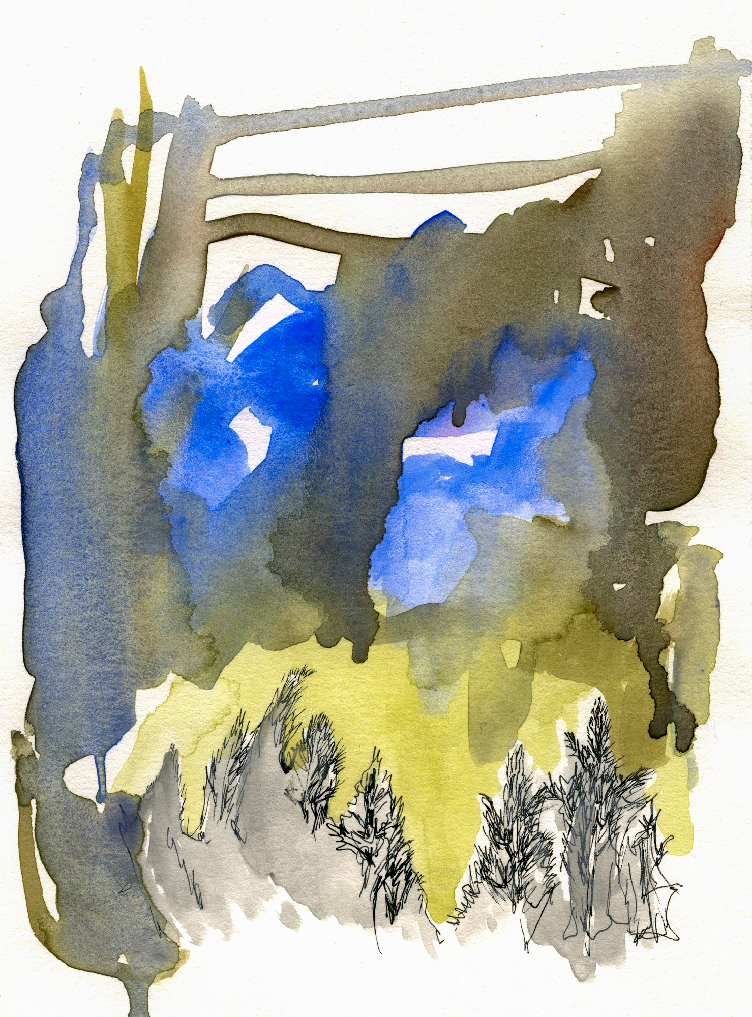 To Be Found, Original Watercolor