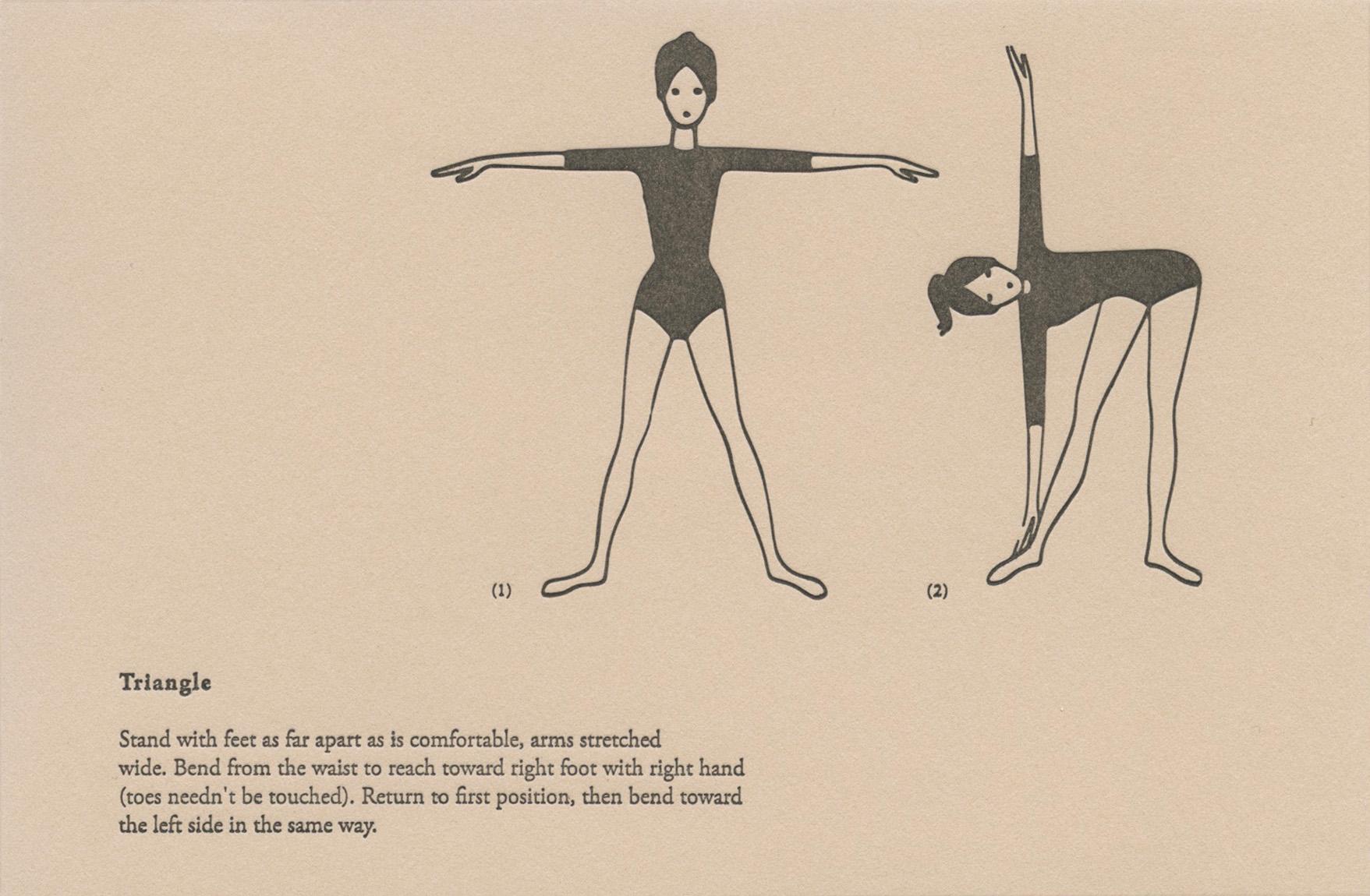 Yoga Poses : Triangle