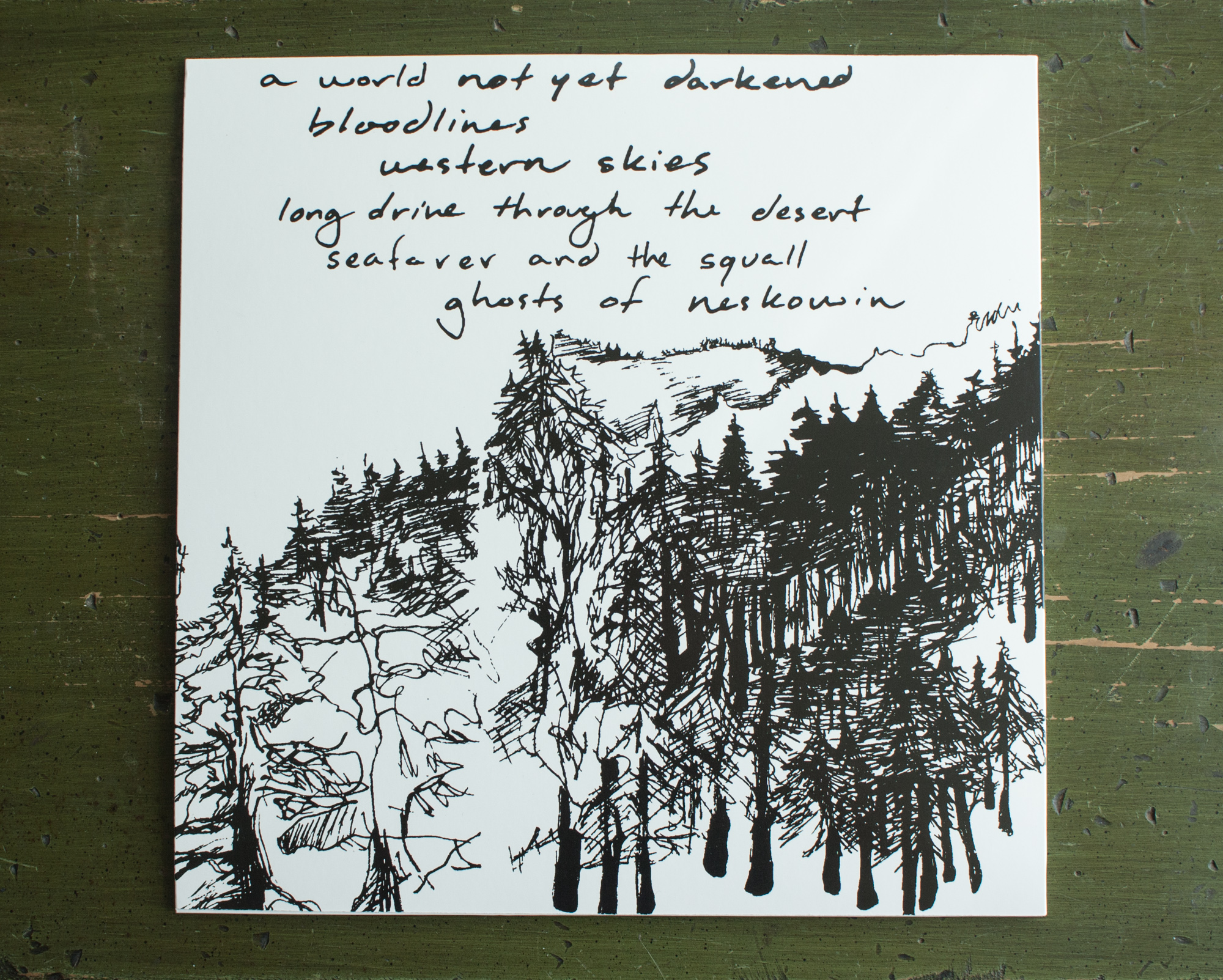To Be Found, Back Cover