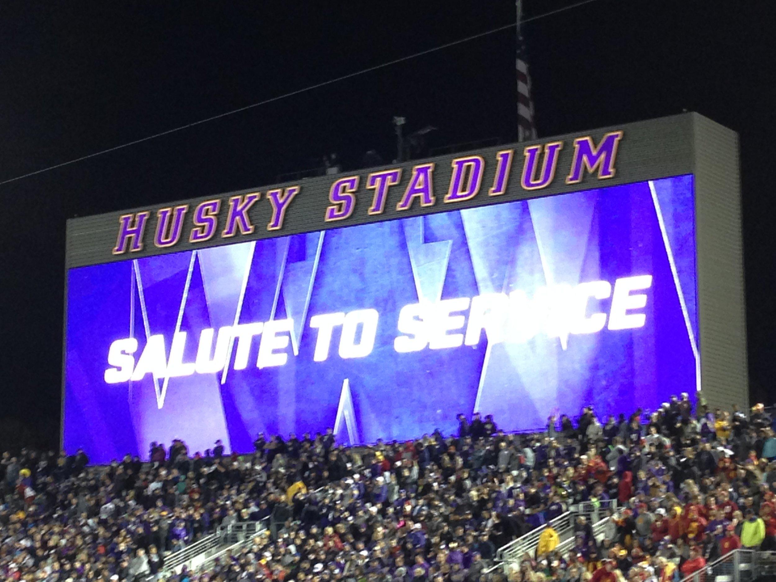 Salute to Service Game (Nov)
