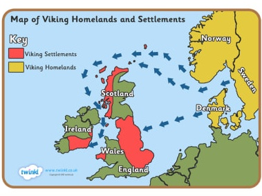 In the Year 1066, the English Kings united to end Dane Law. The Norsk Vikings of Scotland continued to hold Scotland.