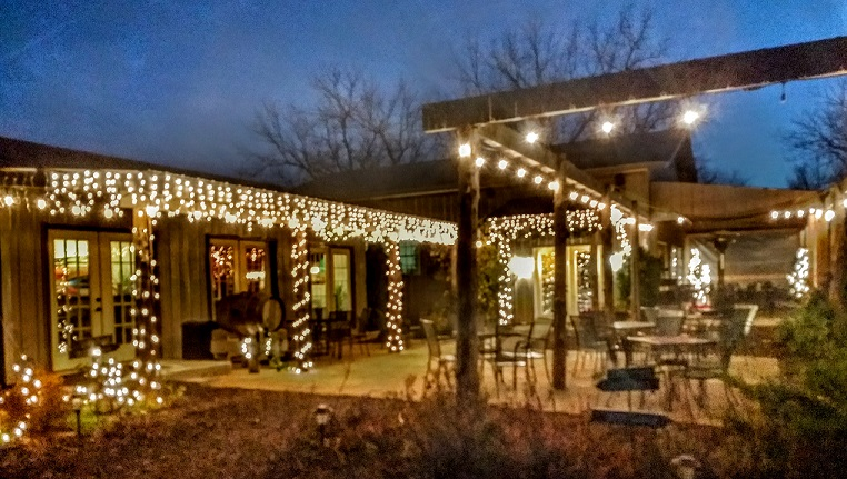 NightHawk is cozy in December and open until 10 PM on Saturdays