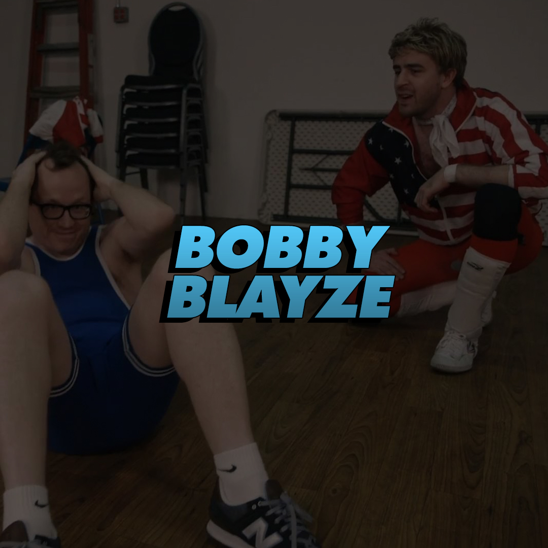 BOBBY BLAYZE    A man of pride, Kentucky Fried and rock n' roll personified, he's Bobby Blayze! DIP DIP DIP!