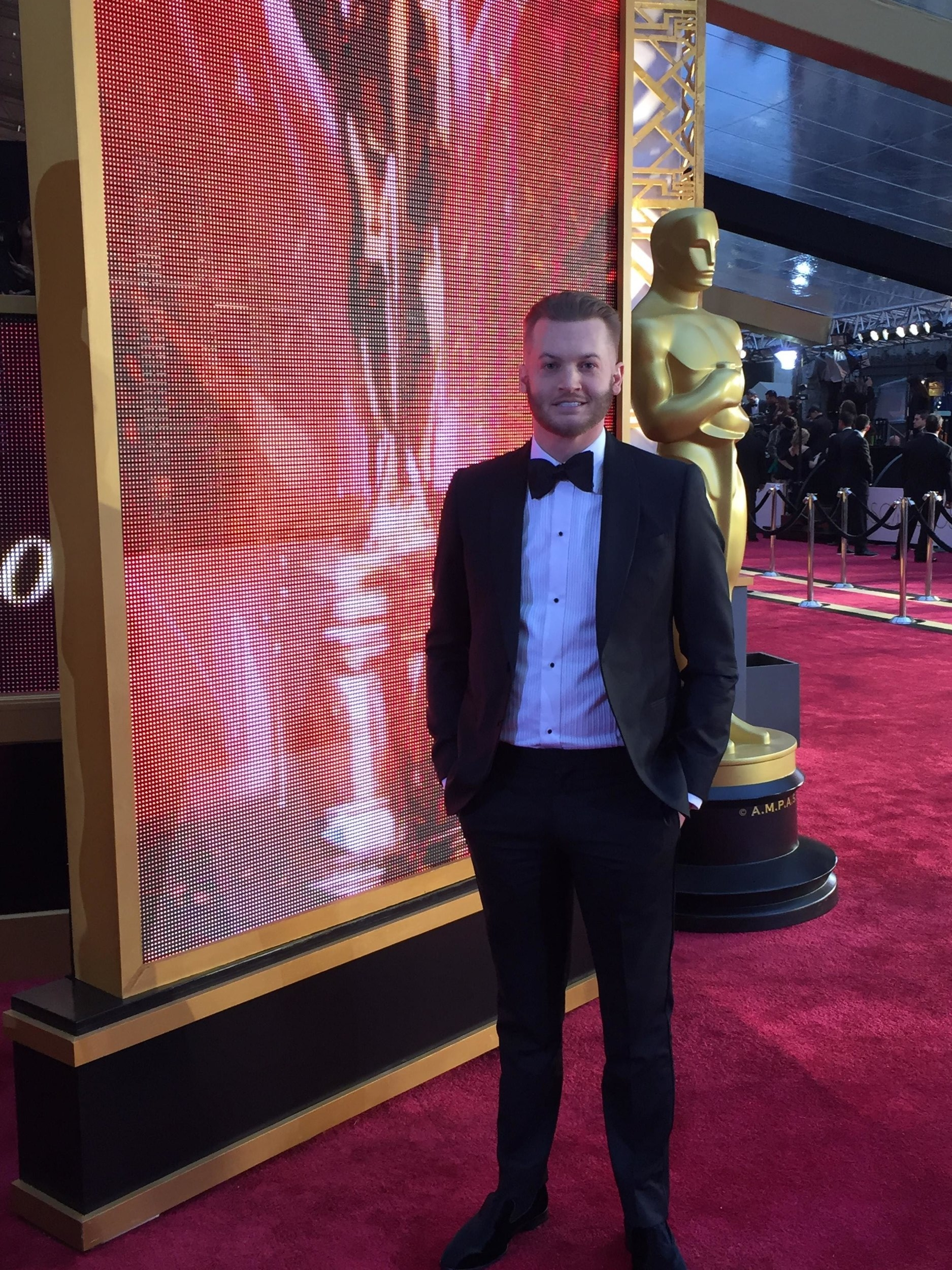 John Powers Middleton at the Oscars 2017