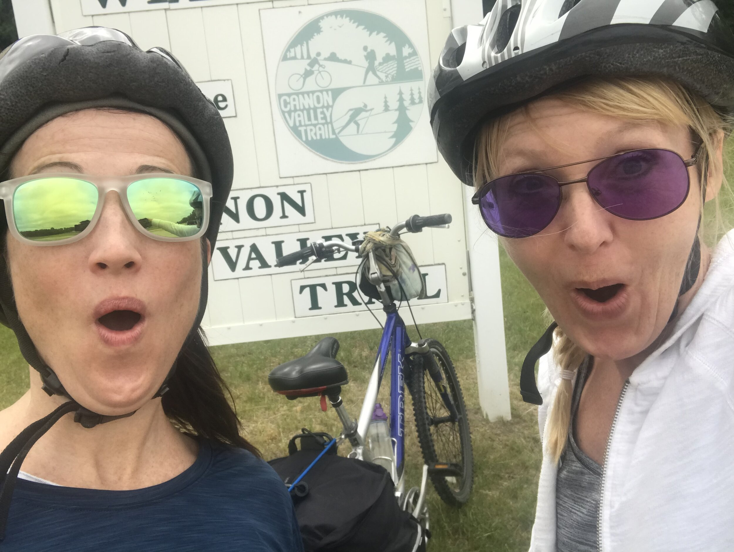 100-mile bike trip!