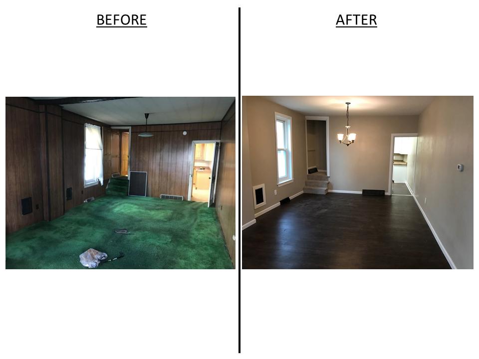 Left Side - Living Room