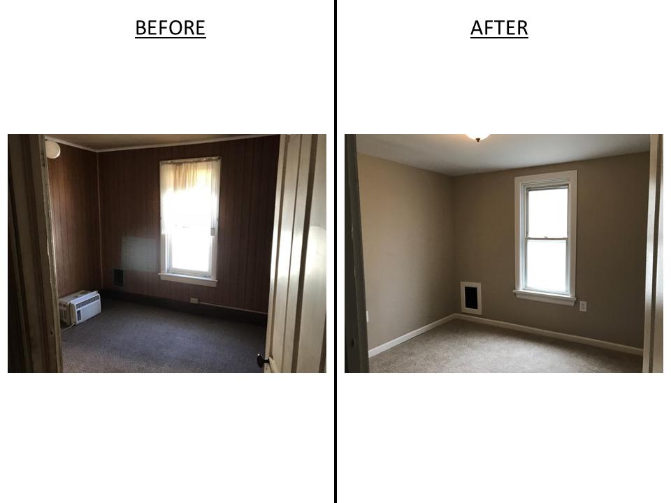 Left Side - Bedroom